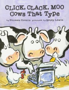 CLICK, CLACK, MOO Cows That Type