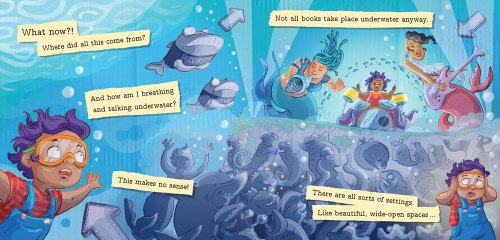 This is NOT a Book - underwater - Story Snug