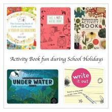 Activity Books for school holidays - Story Snug