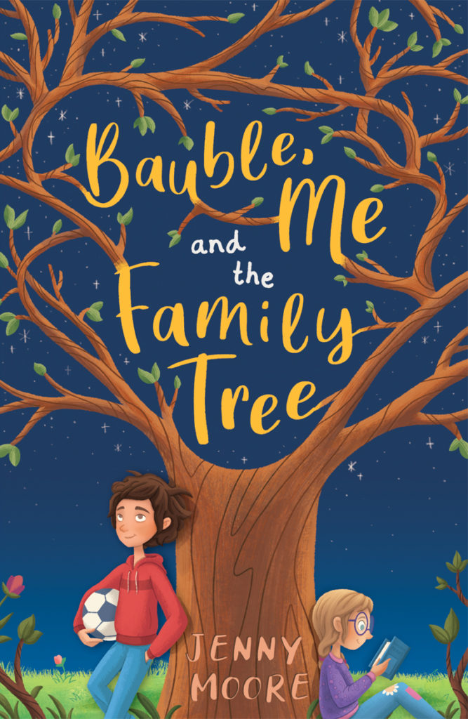 bauble, me and the family tree - Story Snug