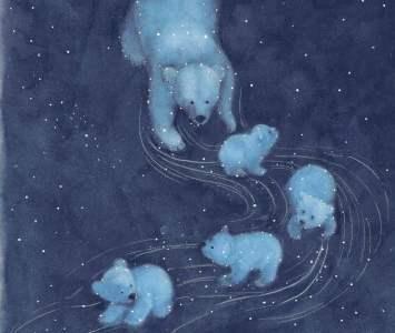 Bear Child Spread One - Story Snug