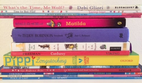 Bedtime Book Spine Poem - Story Snug