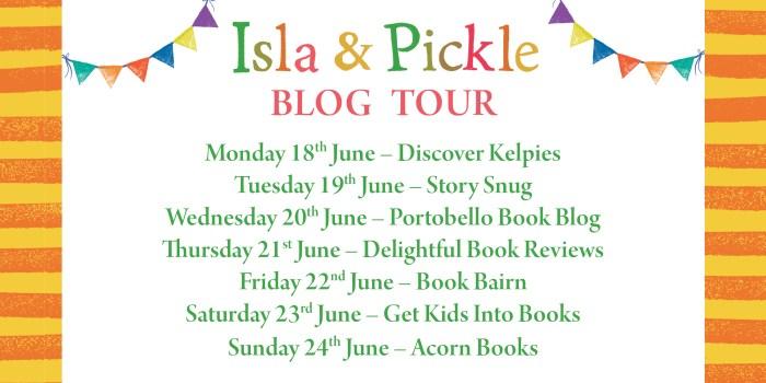 Isla & Pickle Blog Tour Banner - Story Snug