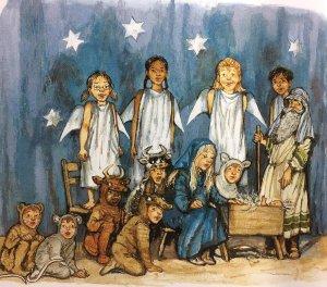Angel Mae and the Christmas Baby - Story Snug