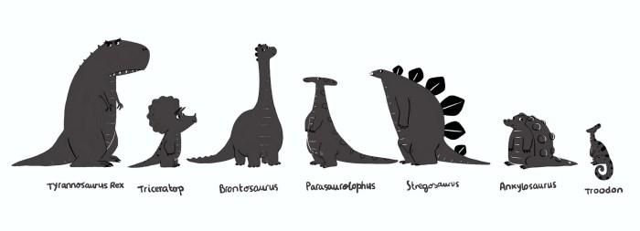 The Dinosaur Who Lost  Her Voice - Francesca Gambatesa illustration - Story Snug