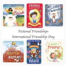 Fictional Friendships - International Friendship Day - Story Snug