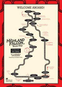 The Highland Falcon Thief Route Map - Story Snug