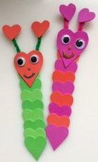 Hungry Caterpillar bookmarks - Story Snug