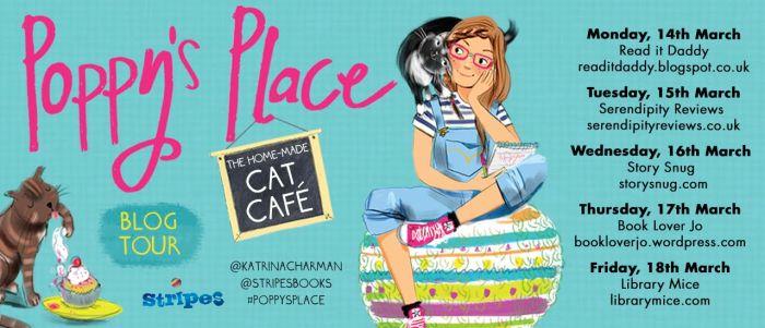 Katrina Charman Poppy's Place blog tour - Story Snug