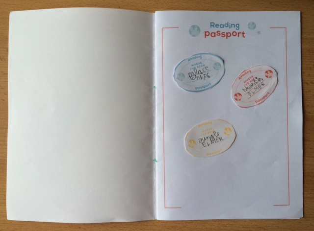 Reading passport stamps - Story Snug
