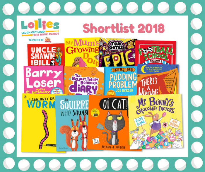Lollies 2018 Shortlisted Books - Story Snug