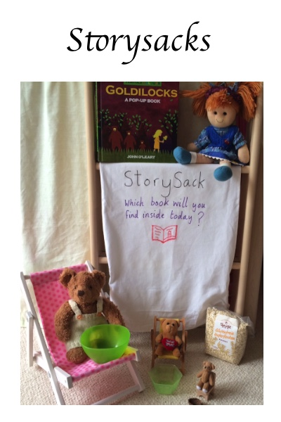 Fun with picture books - storysacks