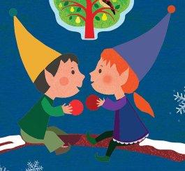 Twelve Days of Christmas cutout - Story Snug