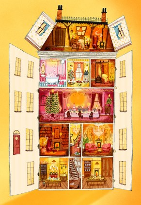 How Winston Delivered Christmas dolls house - Story Snug