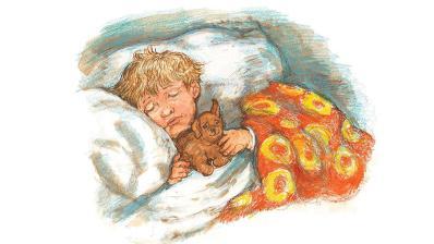 Dogger's Christmas - Dave sleeping - Story Snug