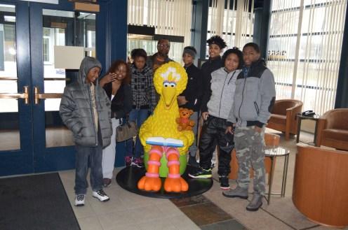 Teen Council with Big Bird at Nine Network