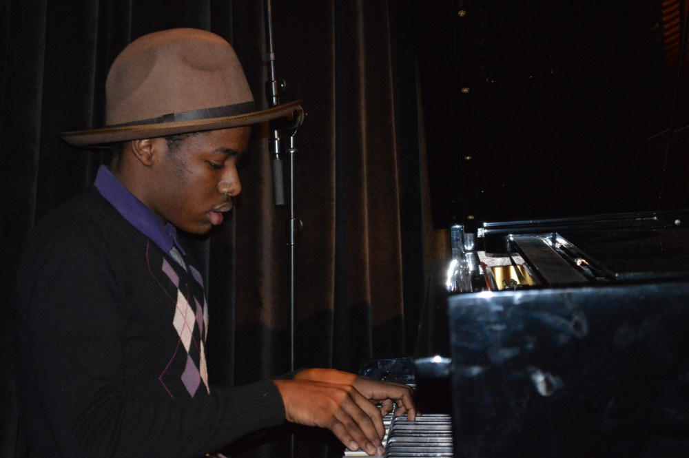 Teen on piano