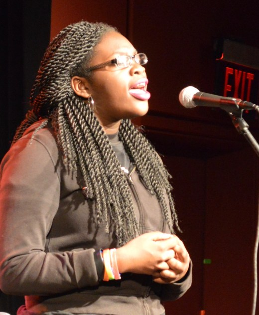 Emoni performs Fly Photo by Jaquan. c Story Stitchers
