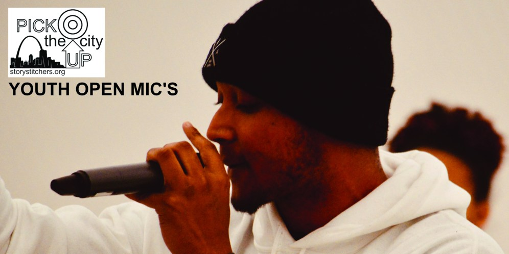 Branden ay Open Mic's in Dutchtown