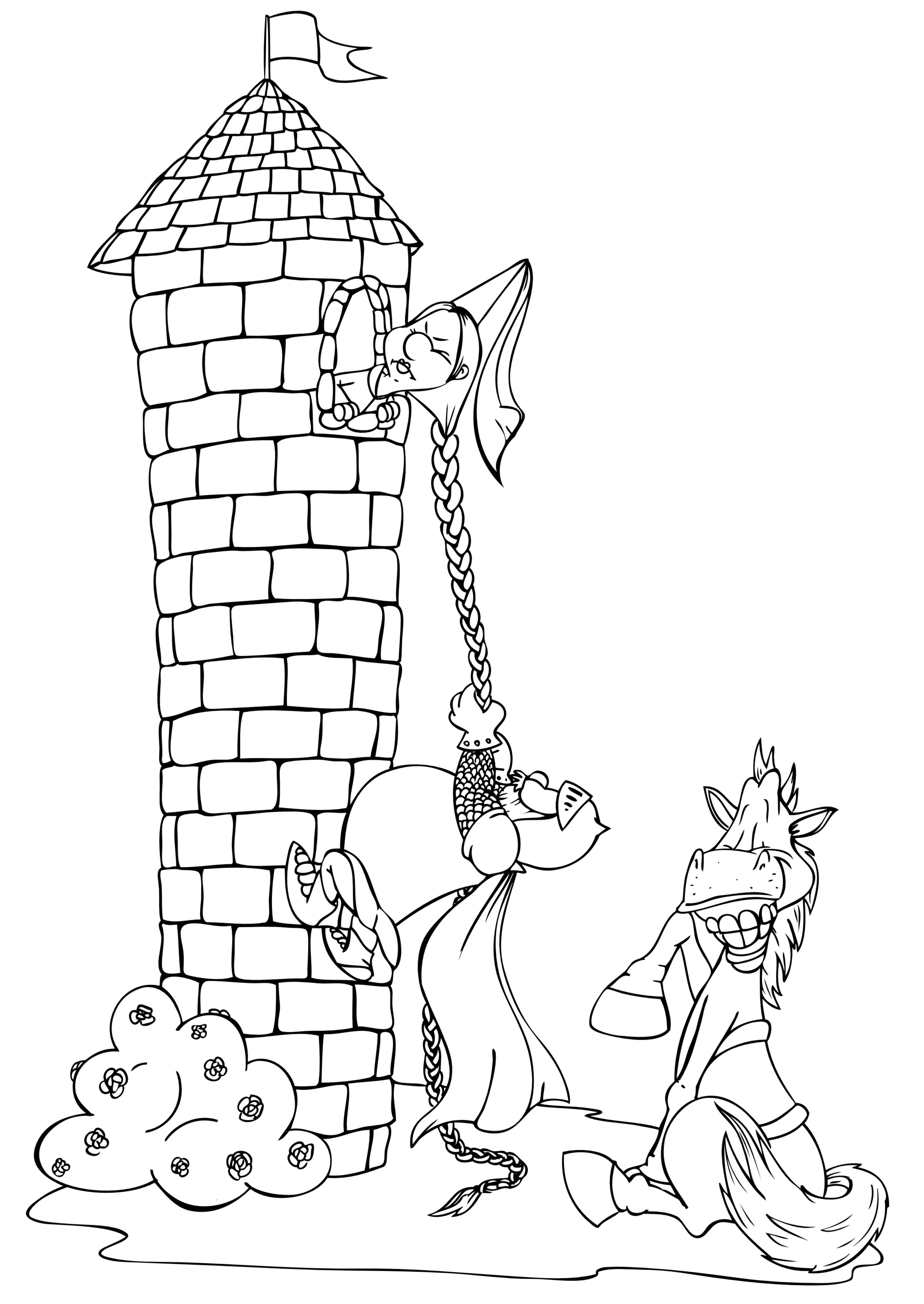 Rapunzel Follow Up Activites