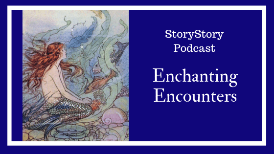 podcast for families, mermaid, enchanting storytelling