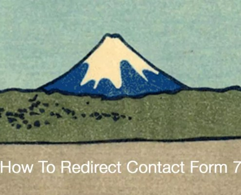 How To Redirect Contact Form 7 To Thank You Page