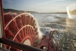 Delta Queen wheel