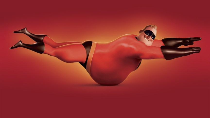 Pixar Mr. Increible
