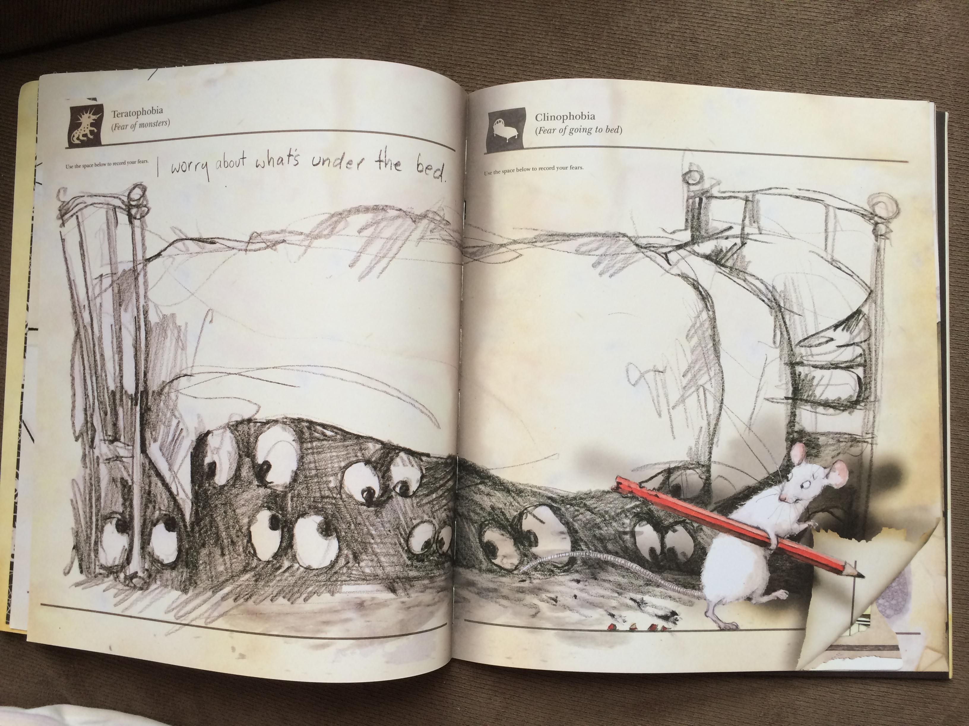 [JAMIE] 跟恐龍英文名字有得拼的-Phobia系列 – Little Mouse's Big Book of FEARS – 為我的寶貝講故事