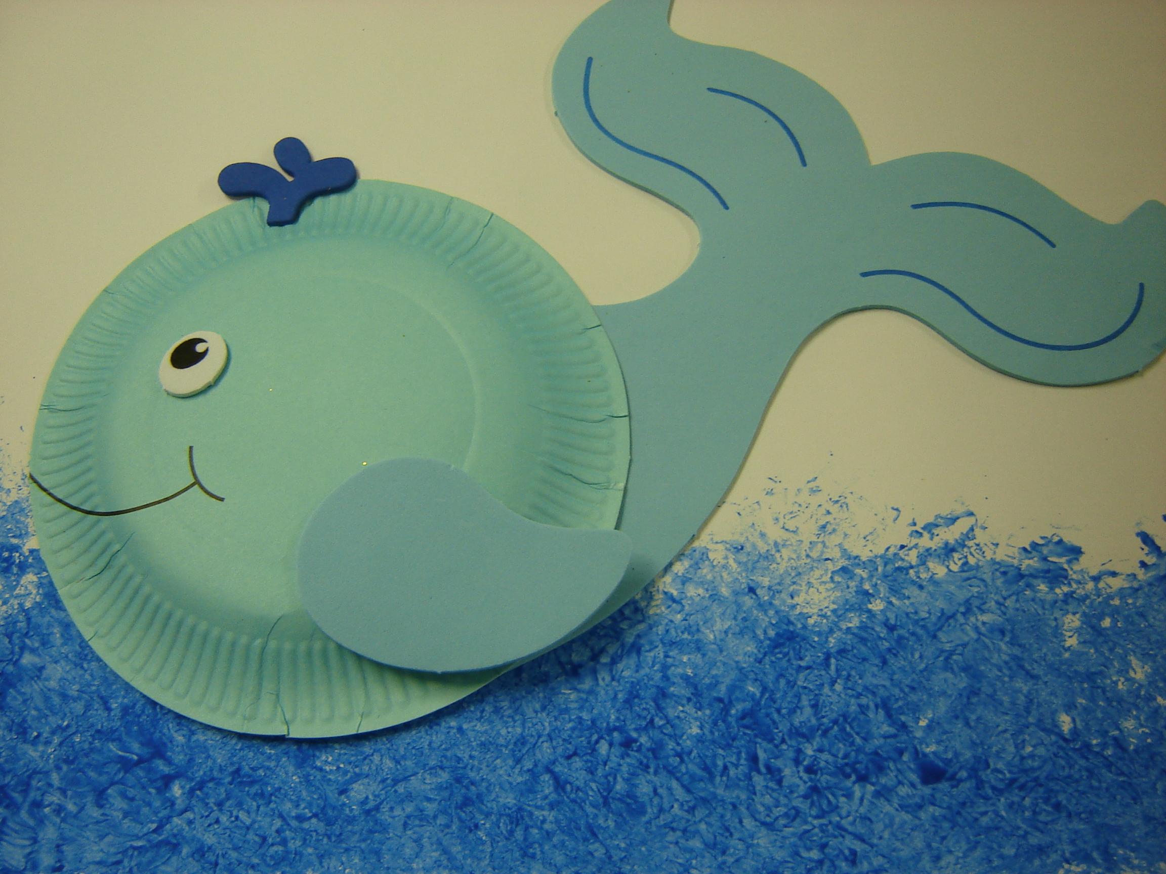Kids Art Whales