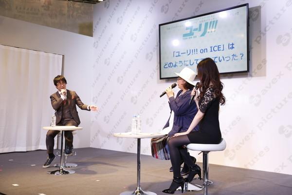 Yuri!!! on ICE Production Announcement Talk