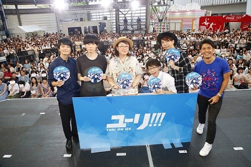 Yuri!!! on ICE Special Talk Event: Sexiness & Figure Skaters