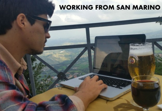 Location independent digital nomad in San Marino