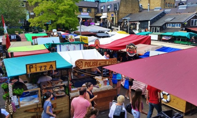 40 Quick and Helpful London Travel Tips You Need To Know Before Visiting - Global Kitchen at Camden Lock Market
