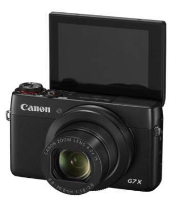 Things we can't travel without - Canon G7 X camera