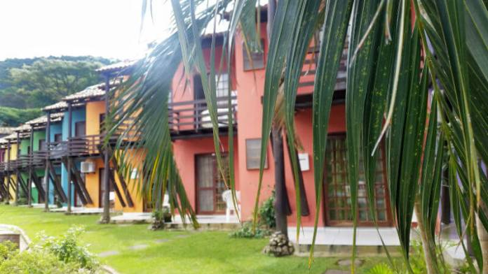 Duplexes at Hotel Saint Germain, Florianópolis - Are you looking for an affordable yet relaxing hotel in Florianópolis, Brazil? Check out our Florianópolis hotel review of Hotel Saint Germain, located on the lake in Lagoa da Conceicão!