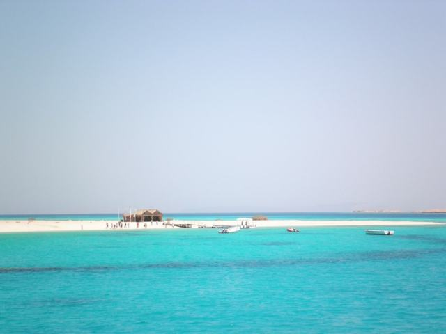 Arrival at the Mahmya Island - Egypt travel tips