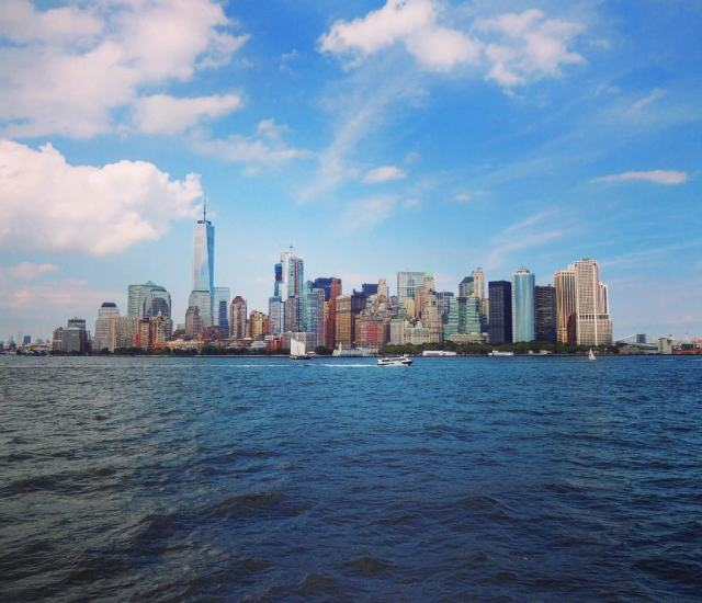 Manhattan view from the boat - New York travel tips