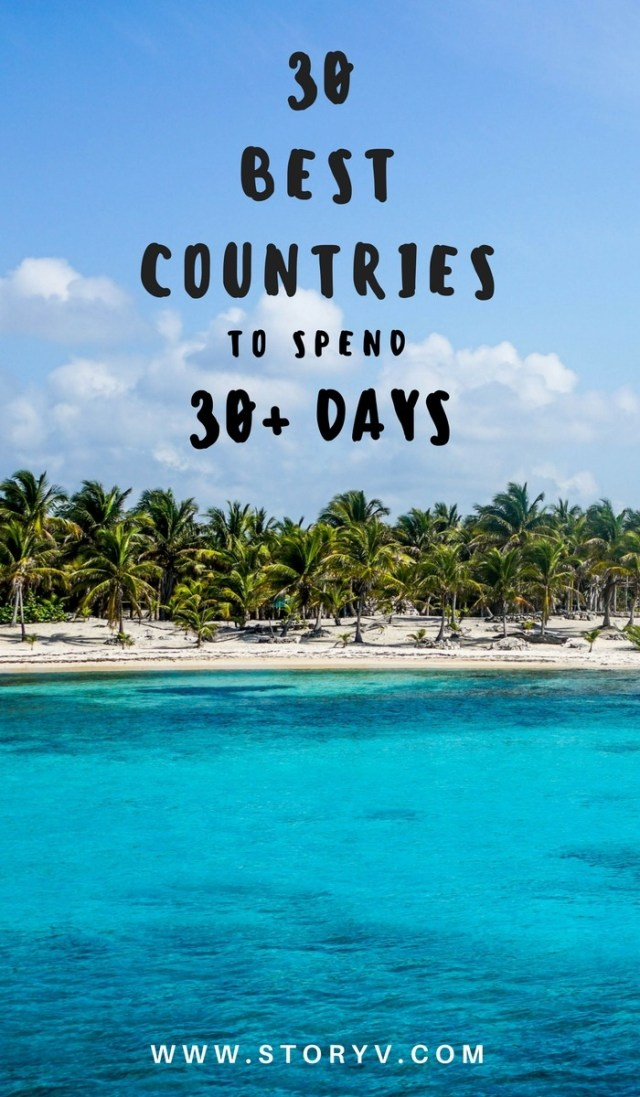 Take us away.... About to start planning your long term travel adventures? Here are 30 countries travelers love to stay for over 30 days. Some of these might surprise you! Click through to read now...