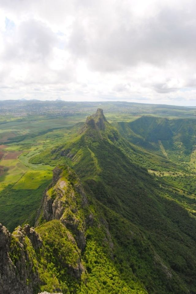 View from Le Pouce Mountain - Mauritius travel tips