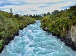 Huka Falls - New Zealand travel tips