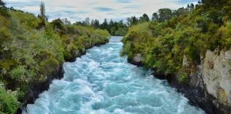 Huka Falls - New Zealand travel tips