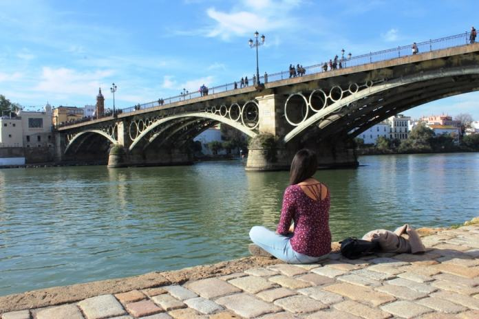 by the river - Seville travel tips