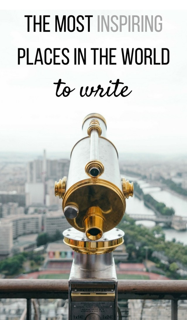 Writing while traveling the world seems like a distant dream to most - something you only see in films. But it is real & many writers are doing it. Here's where they travel to gain the most inspiration... (click through to read)