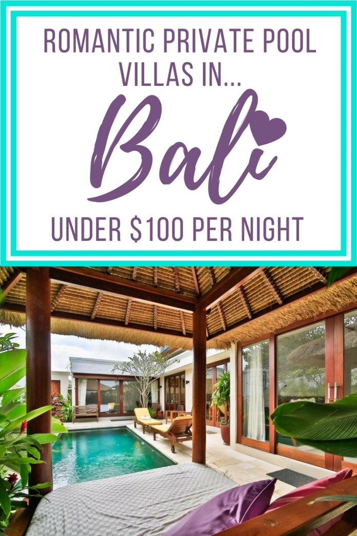 Bali for two? Add an extra spark to your romantic couples getaway by staying at one these idyllic Bali private pool villas...