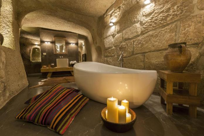 Cave hotels in Cappadocia house hotel
