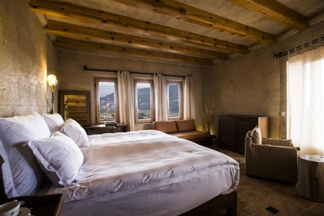 Cave hotels in Cappadocia milestone cave suites