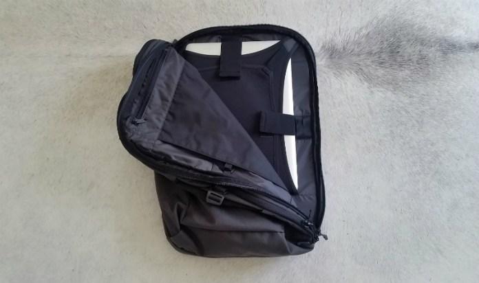 Best bag for digital nomads - Minaal Carry-on 2.0 bag review: Laptop pocket