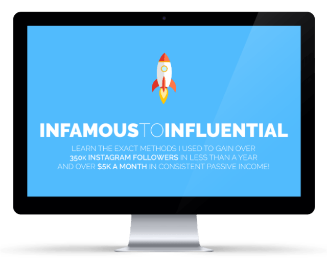 Alex Tooby: Infamous To Influential Instagram Course For Online Influencers