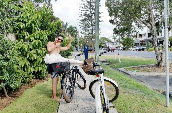 Boutique Byron Bay Accommodation: 28 Degrees Byron Bay Review - Bicycles